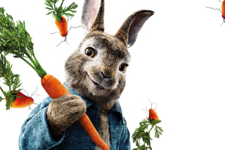 Обои Peter Rabbit 2018 на Huawei G525