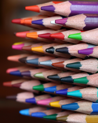 Обои Crayola Colored Pencils на Samsung Muse