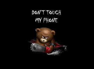 Картинка Dont Touch My Phone на 1280x720