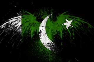 Обои Pakistan Flag на телефон
