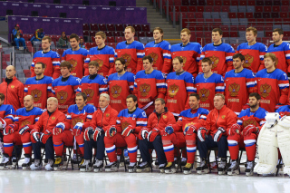 Картинка Russian Hockey Team Sochi 2014 для телефона и на рабочий стол 1920x1080