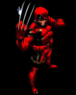 Картинка Wolverine in Red Costume на Samsung Smooth