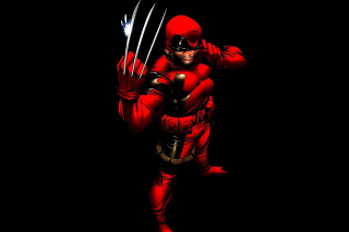 Картинка Wolverine in Red Costume для Huawei Ascend X