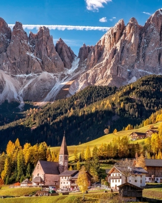 Картинка Villnoss South Tyrol для телефона и на рабочий стол iPhone 7 Plus