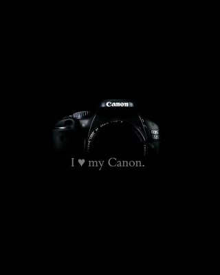 Обои I Love My Canon для телефона и на рабочий стол Samsung Muse