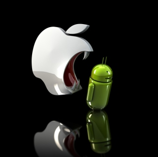 Картинка Apple Against Android на телефон iPad