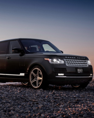 Обои Range Rover Off Road на телефон iPhone 5S