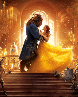 Обои Beauty and the Beast HD на телефон 240x320