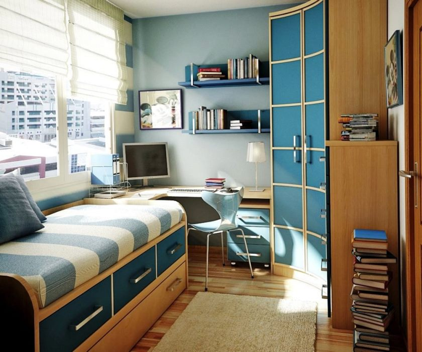 Interior Design For Small Bedroom Spaces - Bedroom Design Decorating Ideas