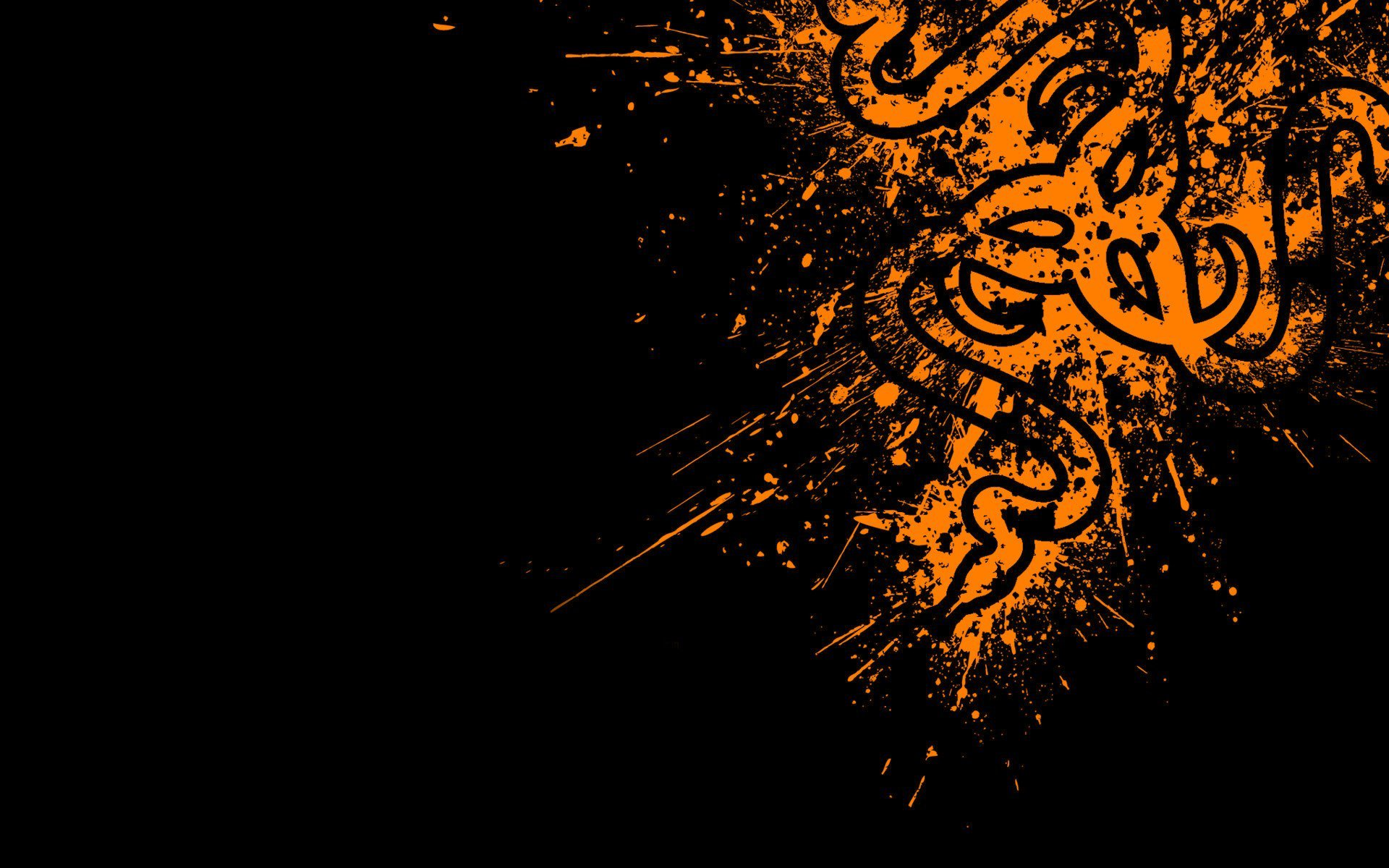 Orange, Razer, Logo