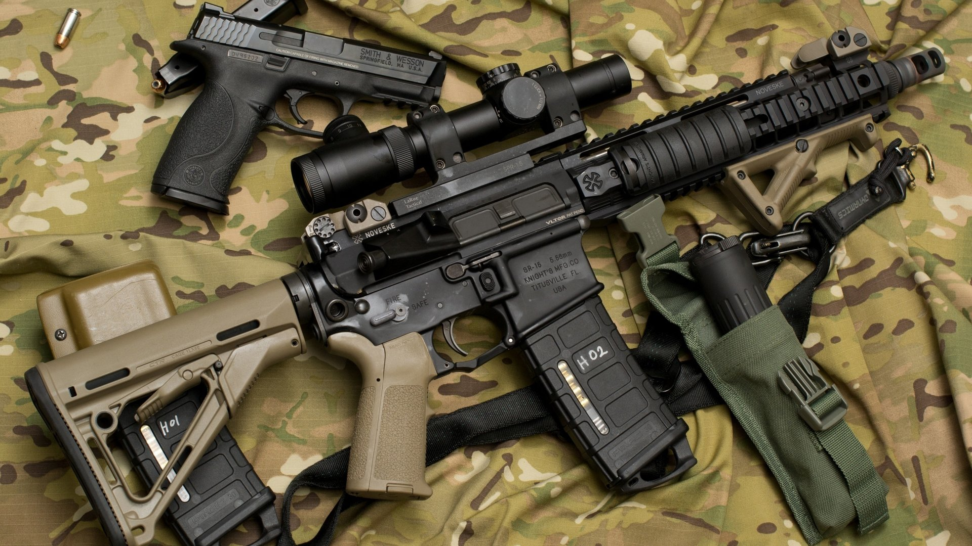 handgun, gun, military, ar15, scope