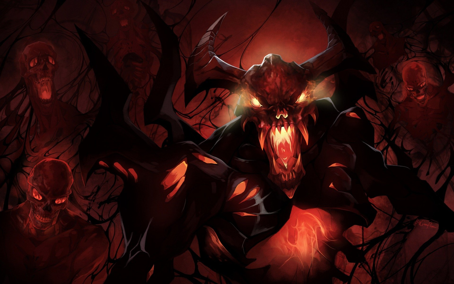 shadow fiend, dota 2, дота, nevermore