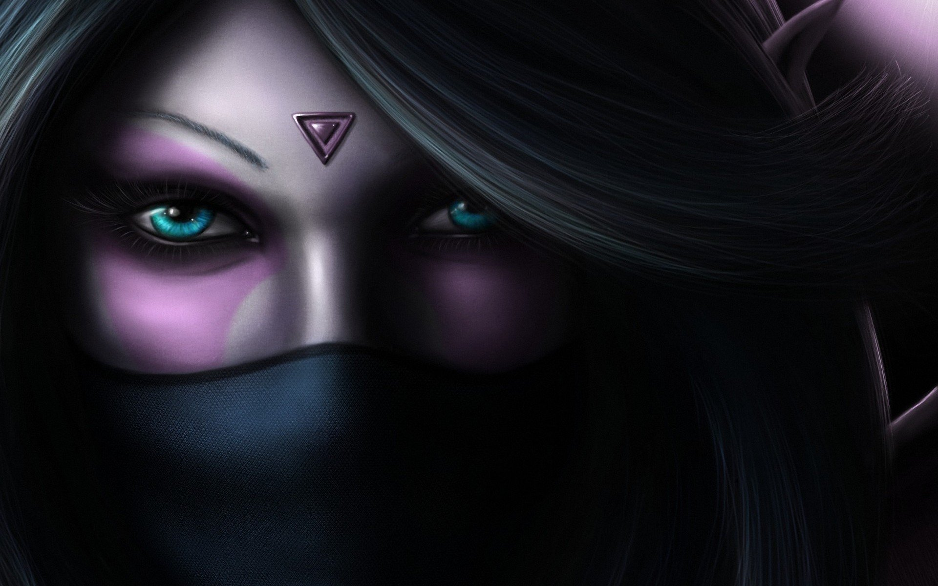 девушка, арт, dota 2, the templar assassin