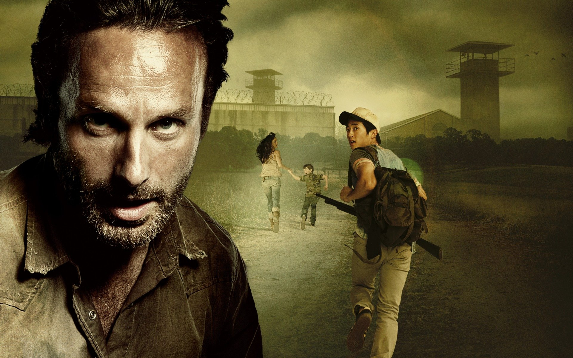 Чендлер риггз, the walking dead, andrew lincoln, ходячие мертвецы