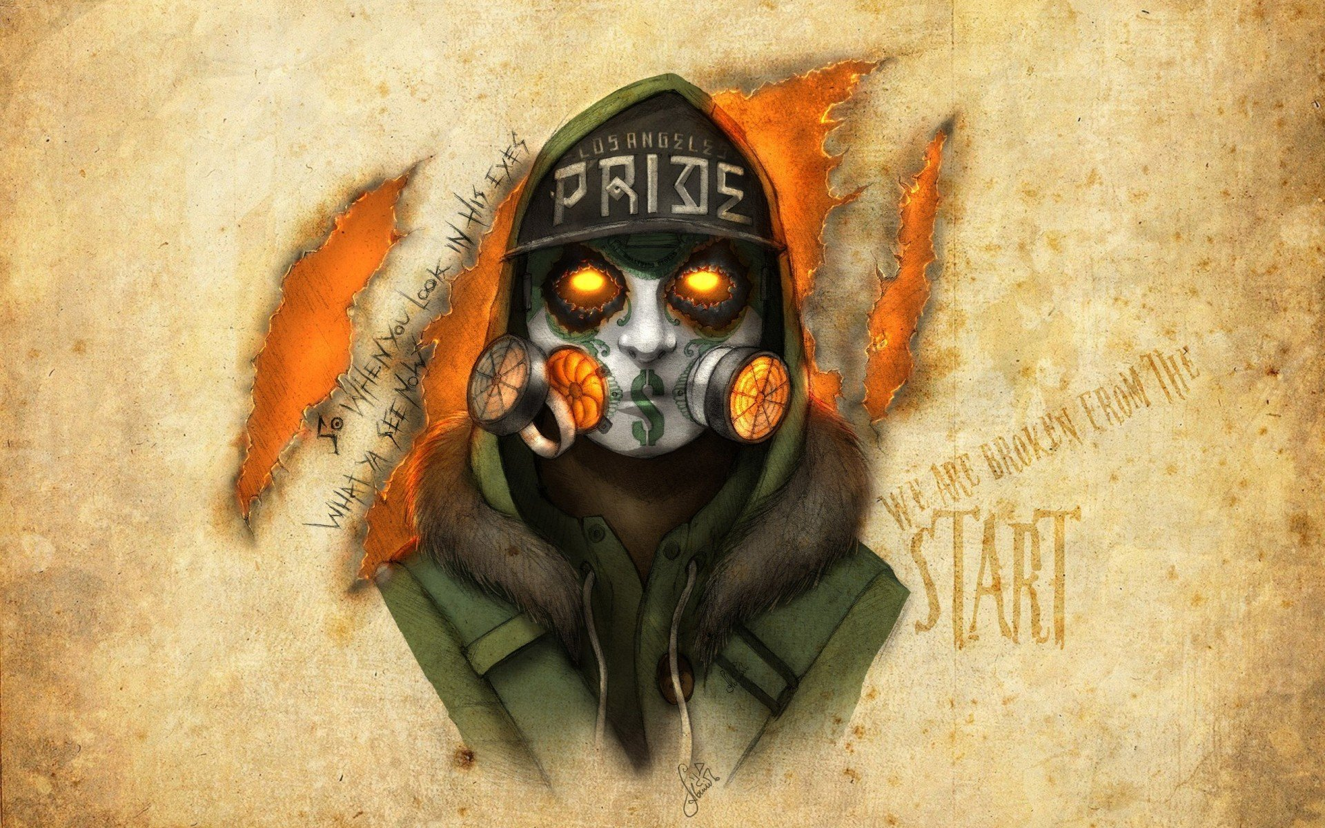 notes from the underground, j-dog, hollywood undead, artwork