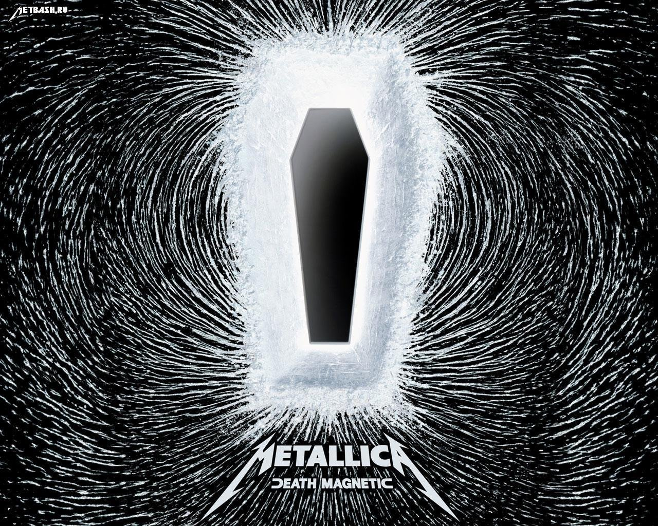 death magnetic, metallica, гроб, полюса