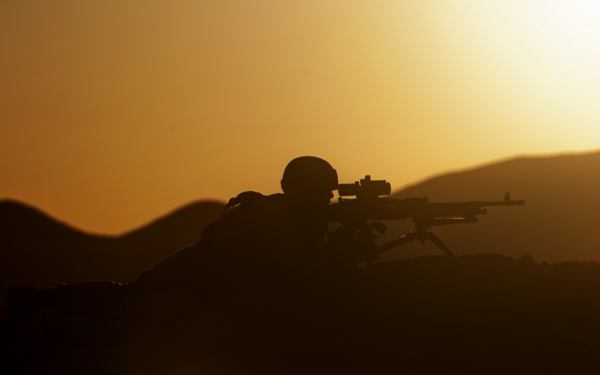 sunset security, marine corps, military
