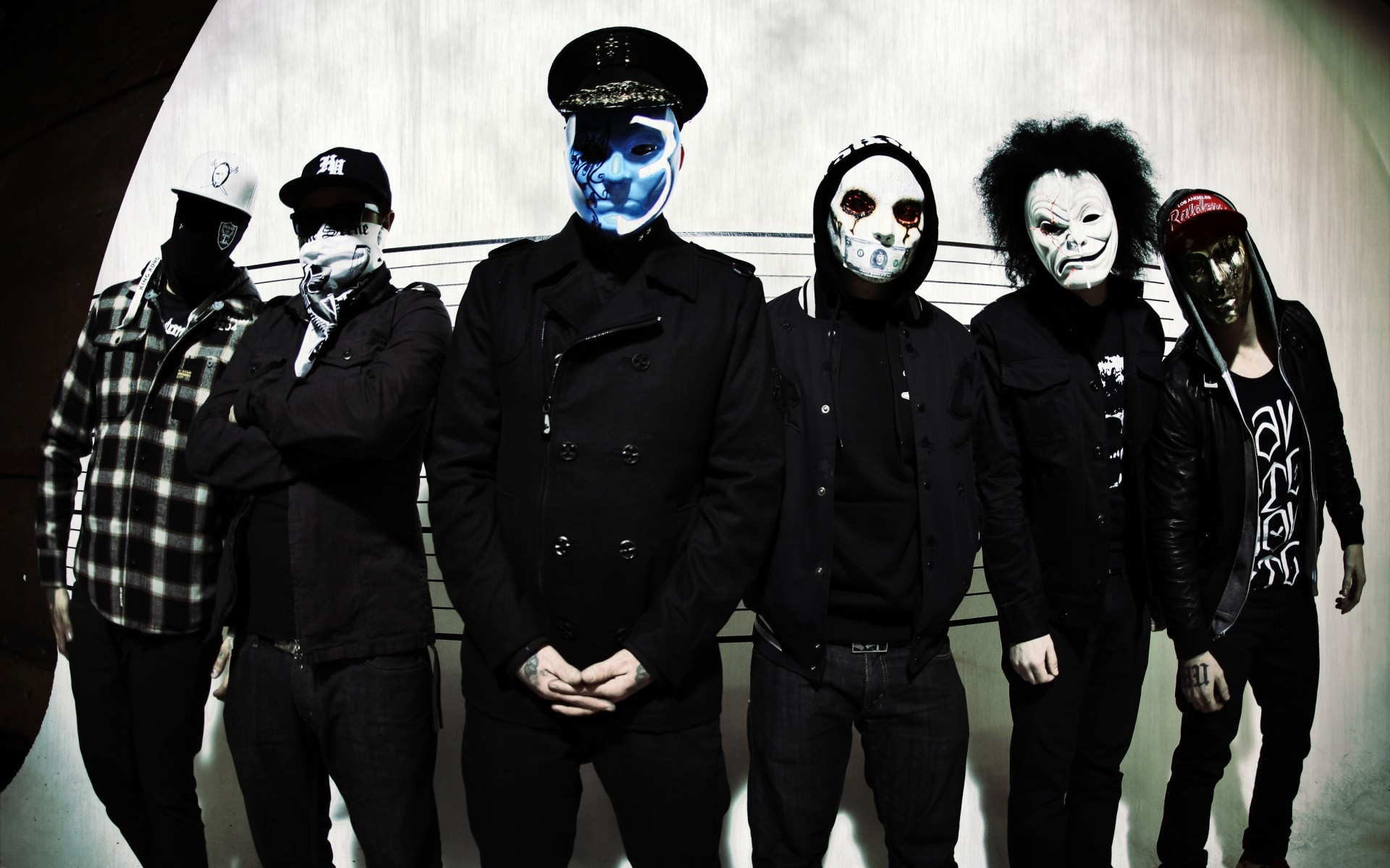 danny, j-dog, hollywood undead