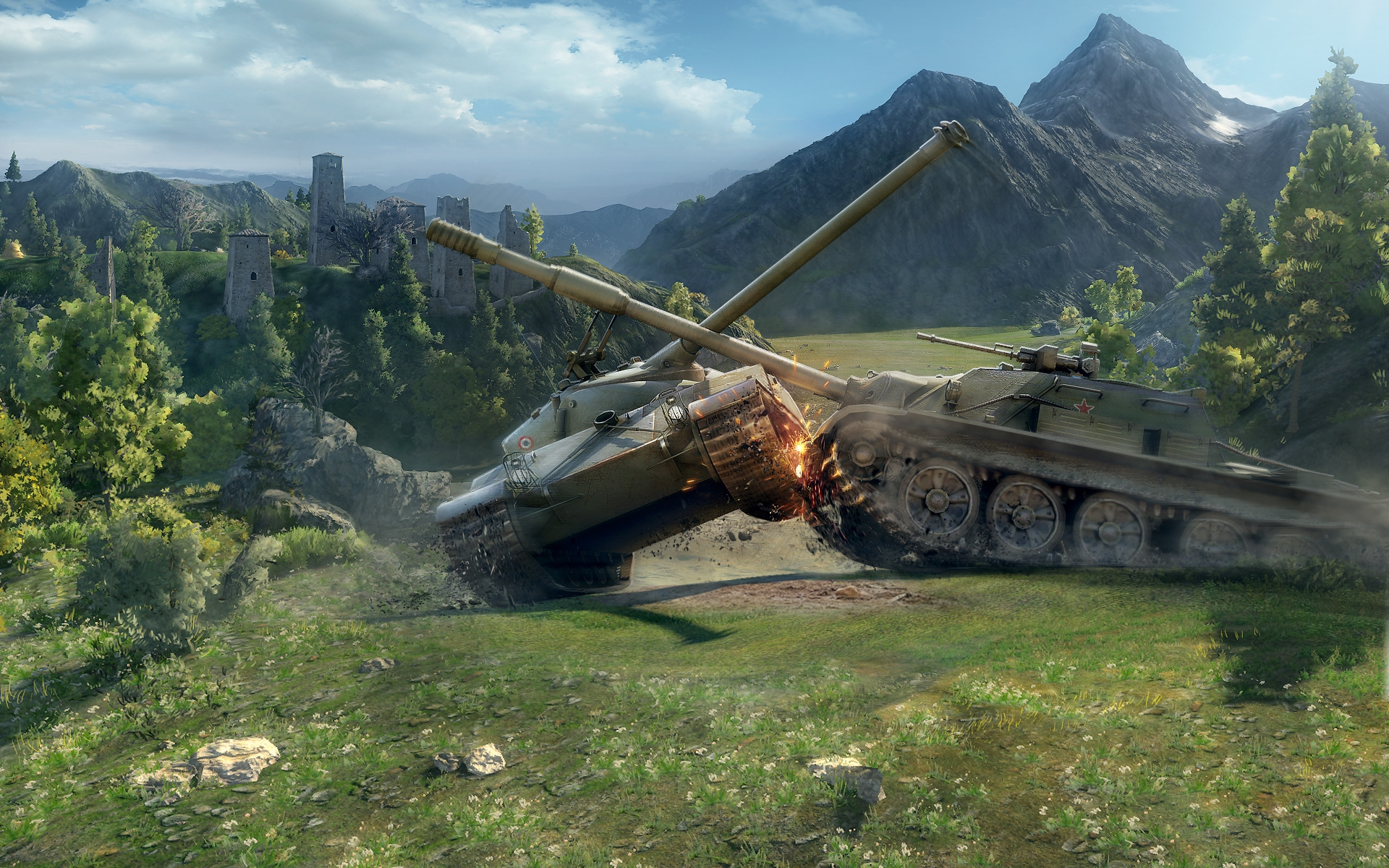 0.8.0, танки, world of tanks, физика