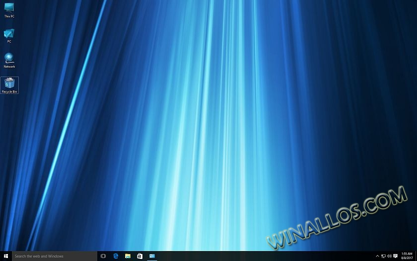 Тема для Windows Blue Style