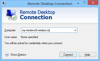 rdp клиент в windows 8