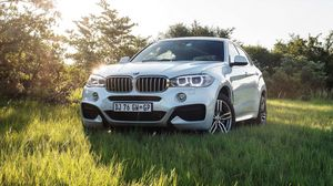 Превью обои bmw, x6, xdrive, m, sport package, 2015, f16