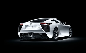 Обои Lexus, LFA, White, Sports car