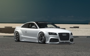 Обои audi S5, car, tuning, low, stance, Liberty Walk