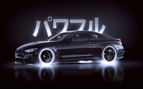 Обои M4, BMW, Style, Black, by Khyzyl Saleem, Japan, Car