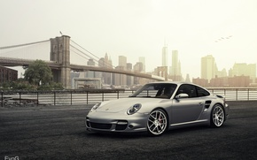 Обои Porsche 911 Turbo, evog, car, Evano Gucciardo