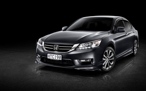 Обои Honda, Accord, хонда, аккорд, Sport, 2014, NZ-spec