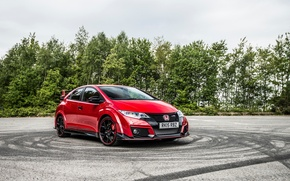 Обои Honda, хонда, Civic, UK-spec, цивик, Type R