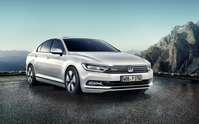 Обои 2015, пассат, BlueMotion, Volkswagen, фольксваген, Passat