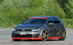 Обои 2015, гольф, Golf, Volkswagen, фольксваген, GTD, MR Car Design, тюнинг, Typ 5G