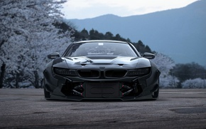 Обои i8, BMW, Concept, Tuning, Future, Japan, Car, Sakura