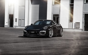 Обои Coupe, TechArt, купе, турбо, порше, 911, Porsche, Turbo