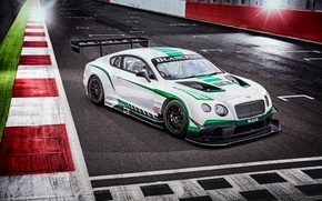 Обои Bentley, Continental, бентли, GT3, континенталь