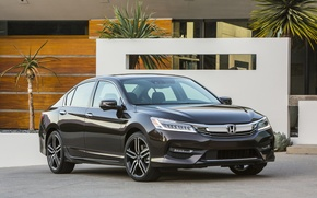 Обои Honda, Accord, хонда, аккорд, Touring, US-spec, 2015