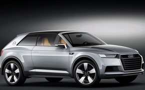 Обои Concept, Audi, Allroad Shooting Brake