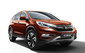 Обои Honda, хонда, 2015, CR-V, CIS-spec, црв