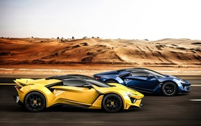 Обои supercar, race, W-Motors, SuperSport, Fenyr
