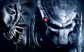 Обои хищник, Aliens vs Predator, чужой