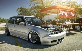 Обои Golf IV GTI, wallpapers Golf GTI IV, faplife, stence