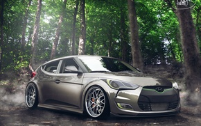 Обои Tuning, Hyundai, Veloster, by Asoares