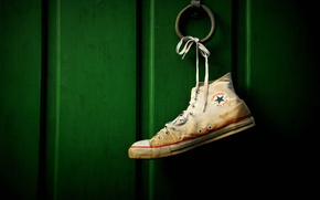 Обои pattern, wall, Converse, green