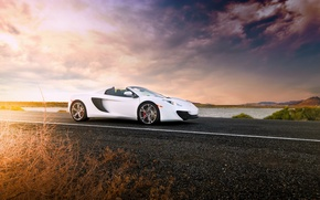 Обои supercar, McLaren, Spider, MP4-12C, макларен