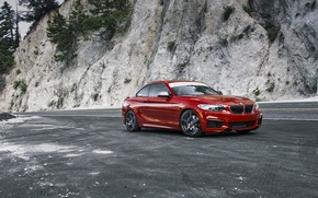 Обои F22, Red, BMW, M235i, Melbourne