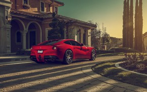 Обои Ferrari, Berlinetta, F12, Luxury, Wheels