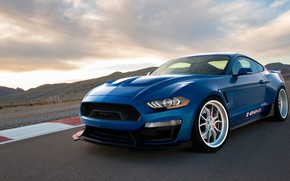 Обои Ford Mustang, 2018, Shelby 1000