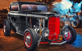 Обои Ford, Hot Rod, Coupe